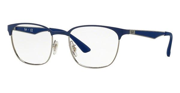 Ray-Ban   RX6356 2876 TOP BRUSCHED BLUE ON GUNMETAL