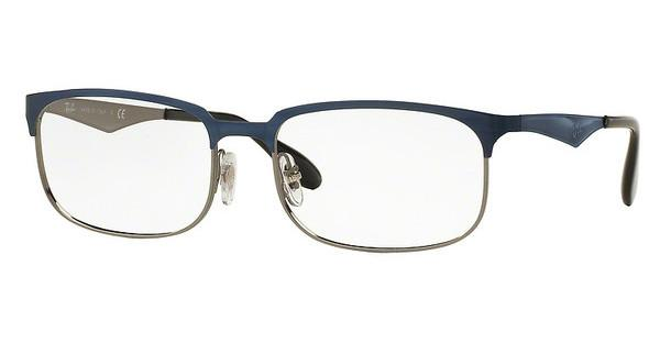 Ray-Ban RX6361 2863 TOP SHINY BLUE ON GUNMETAL