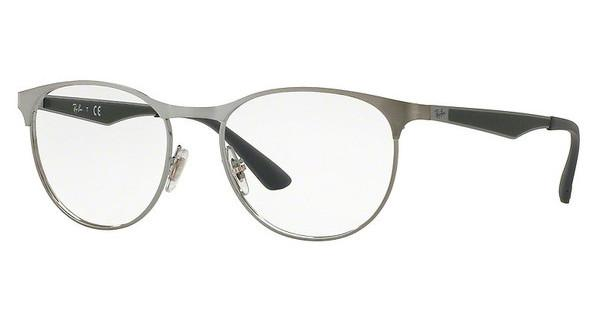 Ray-Ban RX6365 2553 GUNMETAL TOP ON BRUSHED GUNMET