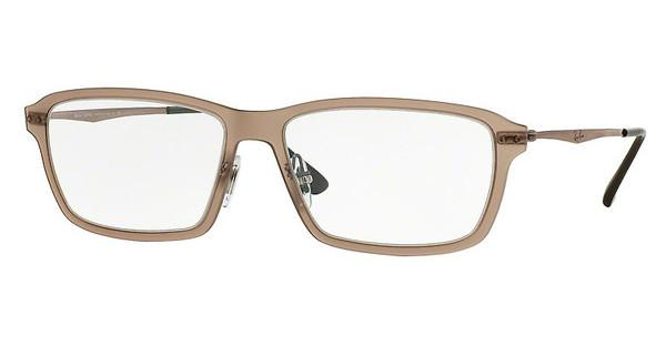 Ray-Ban RX7038 5457 LIGHT MATTE BROWN