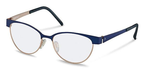 Rodenstock R2560 B dark blue/rose gold