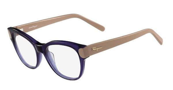 Salvatore Ferragamo SF2756 405 BLUE/NUDE