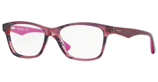 Vogue VO2787 2061 STRIPED BLACK CHERRY