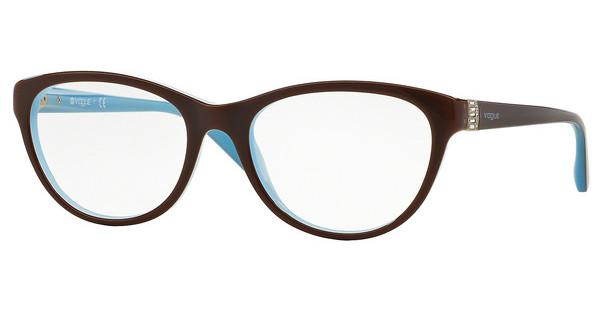 Vogue VO2938B 2011 LIGHT BROWN/WHITE/OPAL AZURE