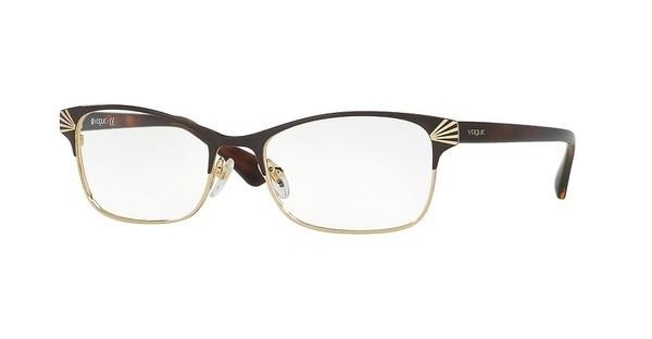 Vogue VO4009 997 BROWN/PALE GOLD