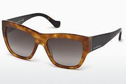 Sonnenbrille Balenciaga BA0102 53B - Havanna, Yellow, Blond, Brown