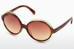 Sonnenbrille Emilio Pucci EP0055 53Z - Havanna, Yellow, Blond, Brown