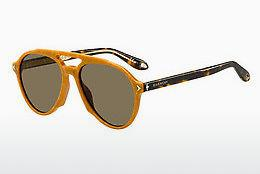 Sonnenbrille Givenchy GV 7076/S Z9K/70 - Braun, Orange