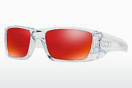 Sonnenbrille Oakley FUEL CELL (OO9096 9096H6) - Transparent, Weiß