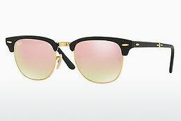 Sonnenbrille Ray-Ban CLUBMASTER FOLDING (RB2176 901S7O) - Schwarz