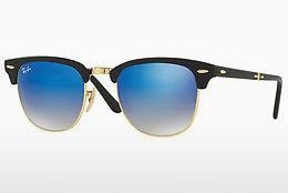 Sonnenbrille Ray-Ban CLUBMASTER FOLDING (RB2176 901S7Q) - Schwarz
