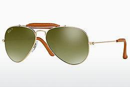 Sonnenbrille Ray-Ban AVIATOR CRAFT (RB3422Q 001/M9) - Gold, Braun