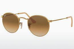 Sonnenbrille Ray-Ban ROUND METAL (RB3447 112/51) - Gold