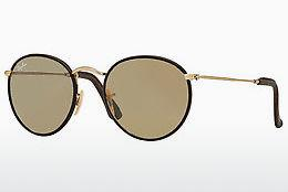 Sonnenbrille Ray-Ban ROUND CRAFT (RB3475Q 112/53) - Gold, Braun
