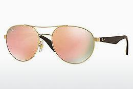 Sonnenbrille Ray-Ban RB3536 112/2Y - Gold