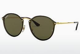Sonnenbrille Ray-Ban BLAZE ROUND (RB3574N 001/9A) - Gold