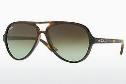 Sonnenbrille Ray-Ban CATS 5000 (RB4125 710/A6) - Braun, Havanna