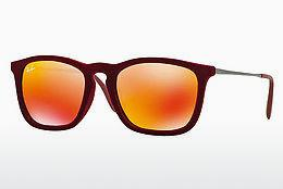 Sonnenbrille Ray-Ban CHRIS (RB4187 60786Q) - Rot