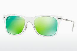 Sonnenbrille Ray-Ban RB4210 646/3R - Weiß, Transparent
