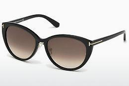 Sonnenbrille Tom Ford Gina (FT0345 01B) - Schwarz, Shiny