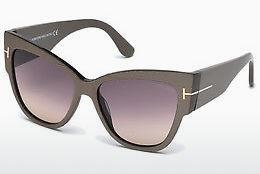 Sonnenbrille Tom Ford Anoushka (FT0371 38B) - Bronze