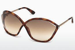 Sonnenbrille Tom Ford Bella (FT0529 53F) - Havanna, Yellow, Blond, Brown