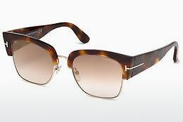 Sonnenbrille Tom Ford Dakota (FT0554 53G) - Havanna, Yellow, Blond, Brown