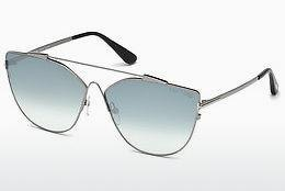 Sonnenbrille Tom Ford FT0563 14X - Grau, Shiny, Bright