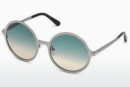 Sonnenbrille Tom Ford FT0572 14W - Grau, Shiny, Bright