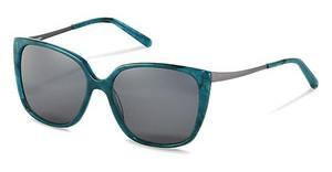 Bogner BG023 D sun protect - smoky grey - 85 %turquoise structured, light gun