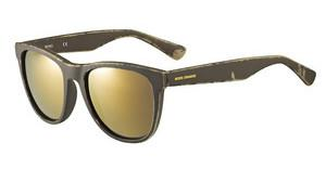 Boss Orange BO 0198/S 9EN/HJ GUN METAL FLBRW OCHRE (GUN METAL FL)