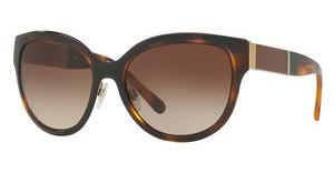 Burberry BE3087 121713 BROWN GRADIENTLIGHT GOLD