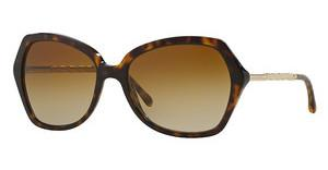 Burberry BE4193 3002T5 POLAR BROWN GRADIENTDARK HAVANA
