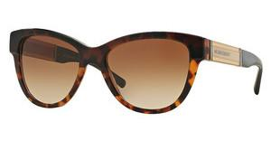 Burberry BE4206 355913 BROWN GRADIENTTOP DK HAVANA/LIGHT HAVANA