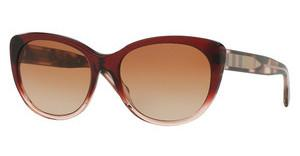 Burberry BE4224 355313 BROWN GRADIENTBORDEAUX GRADIENT PINK
