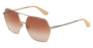 Dolce & Gabbana DG2157 129313 BROWN GRADIENTPINK GOLD