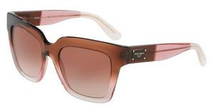 Dolce & Gabbana DG4286 306013 BROWN GRADIENTBORDEAUX GRAD/PINK/POWDER