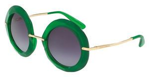 Dolce & Gabbana DG6105 30088E GREY GRADIENTTRANSPARENT GREEN