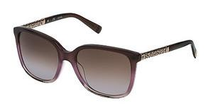 Escada SES438 07VD SHINY MILKY BROWN/PINK