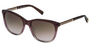 Escada SES439 07VD SHINY MILKY BROWN/PINK