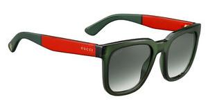 Gucci GG 1133/S VND/9K GREEN SHADEDGREEN RED