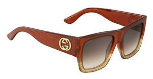Gucci GG 3817/S RQA/K8 BROWN SFGLTTRDYLL (BROWN SF)
