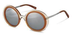 Jil Sander J0002 C silber titanium mirror 79%grey brown