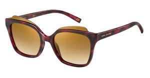 Marc Jacobs MARC 106/S N8S/7B BROWN SS BRZRED HVNA