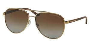 Michael Kors MK5007 1043T5 BROWN GRADIENT POLARIZEDGOLD WOOD