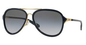 Oakley OO4102 410203 BLACK GREY GRADIENTSATIN GOLD/POLISHED NAVY