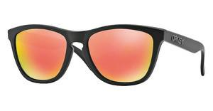 Oakley OO9013 24-402 RUBY IRIDIUM POLARIZEDMATTE BLACK