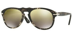 Persol PO0649 1063O3 LIGHT BROWN MIRROR GOLDSPOTTED GREY BLACK
