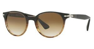 Persol PO3151S 102651 CLEAR GRADIENT BROWNBROWN/BROWN STRIPED