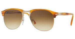 Persol PO8649S 960/51 BROWN GRADIENTSTRIPPED BROWN